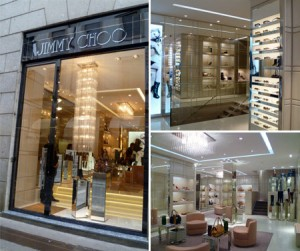 Jimmy Choo opens new store in milan
