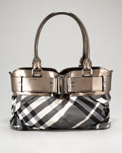 burberry Knotted Small Healy Shoulder Bag