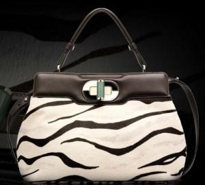 zebra bulgari handbag