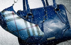 burberry handbag blue