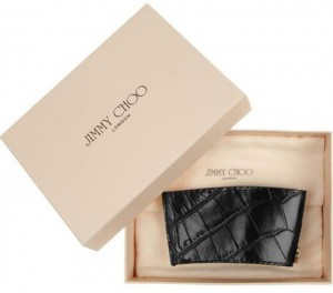 Jimmy Choo Rika croc-effect