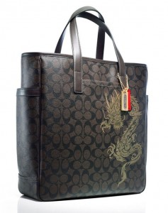 Coach-dragon-tote