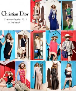 Christian Dior Cruise Collection 2012 At The Beach